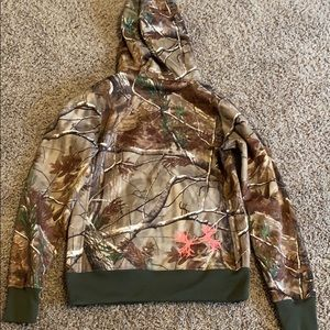 Women's Under Armor Camo Jacket